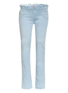 VINGINO Skinny Jeans BETH mit Rüschenbesatz