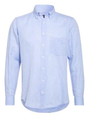 STROKESMAN'S Hemd Regular Fit mit Leinen