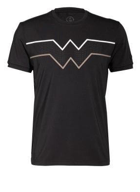 BOGNER T-Shirt AVINO mit Mesh-Einsatz