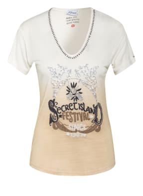 Grace T-Shirt mit Paillettenbesatz
