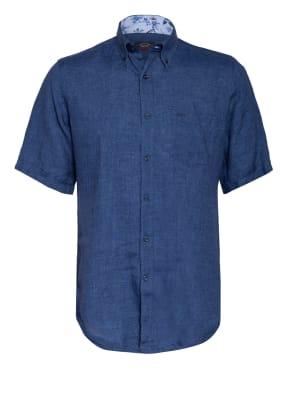 PAUL & SHARK Kurzarm-Hemd Slim Fit aus Leinen