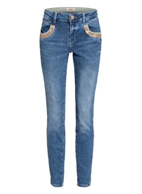 MOS MOSH Jeans NAOMIE WAVE Regular Fit mit Pailettenbesatz