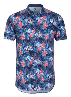 DESOTO Halbarm-Hemd Slim Fit aus Jersey