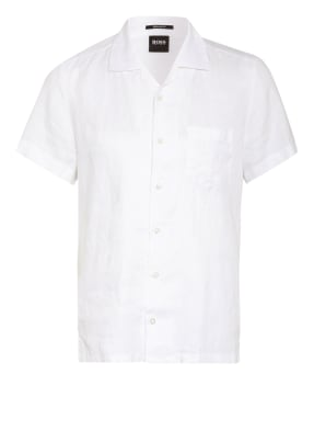 BOSS Resorthemd RHYTHM Regular Fit aus Leinen