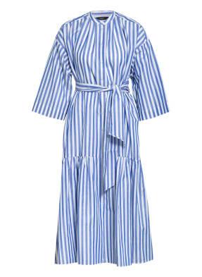 WEEKEND MaxMara Hemdblusenkleid VERRES mit 3/4-Arm und Leinen