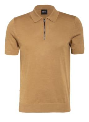 BOSS Strick-Poloshirt PALIERI