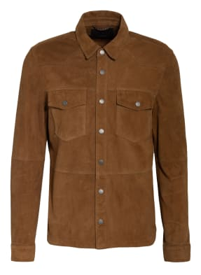 windsor. Overjacket aus Leder