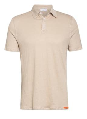 DISTRETTO 12 Jersey-Poloshirt aus Leinen