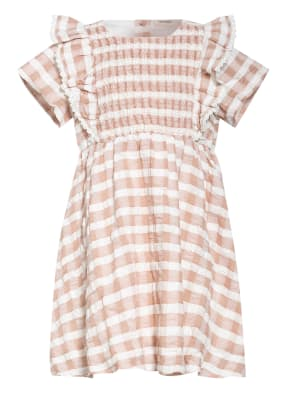 Lil' Atelier Kleid mit Spitzenbesatz
