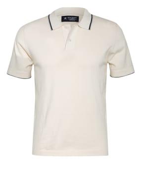 HACKETT LONDON Piqué-Poloshirt mit Seide