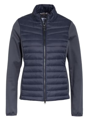 Barbour Jacke im Materialmix