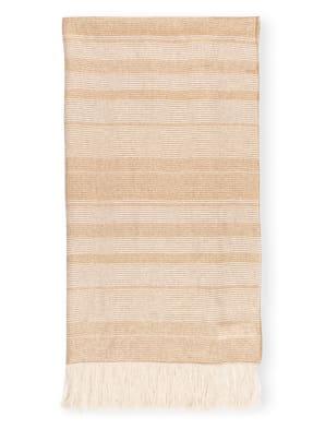 PESERICO Schal mit Leinen