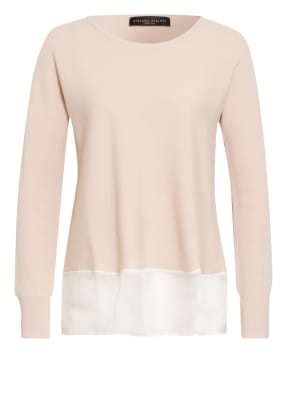 FABIANA FILIPPI Cashmere-Pullover im Materialmix