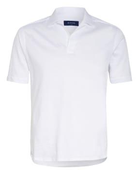 ETON Jersey-Poloshirt Slim Fit mit Leinen