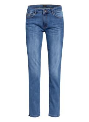 MORE & MORE Skinny Jeans HAZEL mit Schmucksteinbesatz