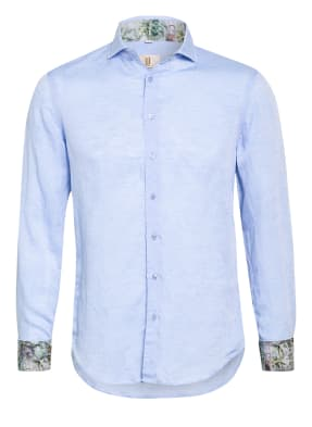Q1 Manufaktur Hemd Extra Slim Fit mit Leinen