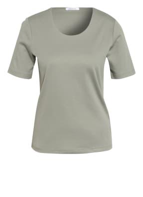efixelle T-Shirt mit Perlenbesatz