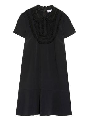 RED VALENTINO Kleid mit Spitzenbesatz
