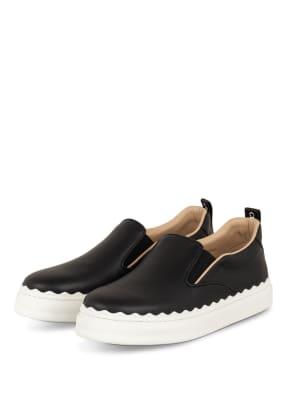Chloé Slip-on-Sneaker mit Plateau