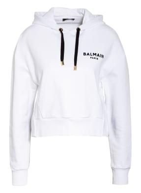 BALMAIN Cropped-Hoodie