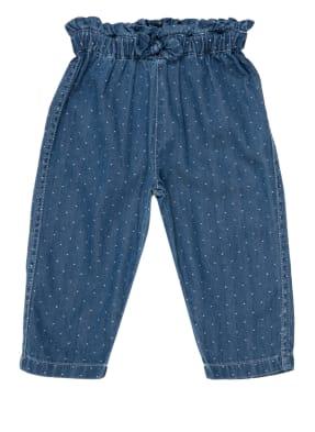 PETIT BATEAU Paperbag-Jeans