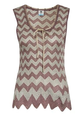 M MISSONI Top mit Glitzergarn