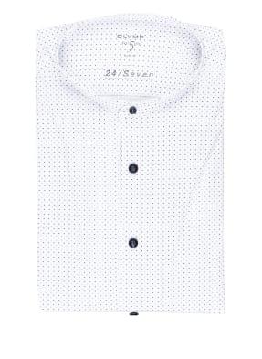 OLYMP Jerseyhemd Level Five 24/7 body fit mit Stehkragen