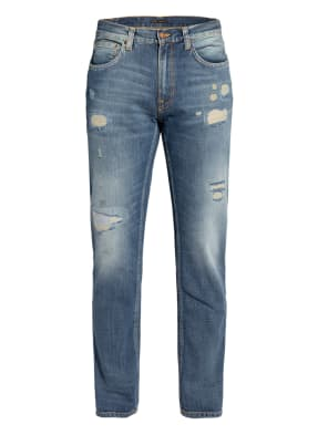 Nudie Jeans Destroyed Jeans GRITTY JACKSON Straight Fit
