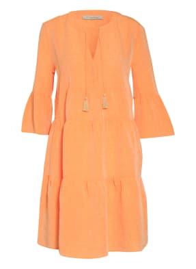 lilienfels Kleid mit Leinen und 3/4-Arm