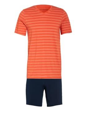 SCHIESSER Shorty-Schlafanzug HOLLOW AIR TECH