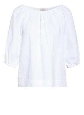 Mrs & HUGS Blusenshirt aus Leinen mit 3/4-Arm