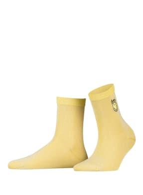 sandro Socken mit Glitzergarn