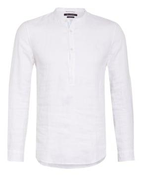 Marc O'Polo Leinenhemd Slim Fit mit Stehkragen