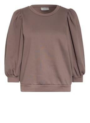 GESTUZ Sweatshirt mit 3/4-Arm