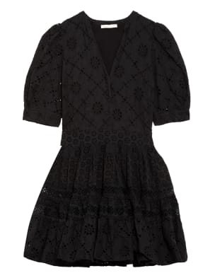 maje Kleid RAYANETTE aus Lochspitze