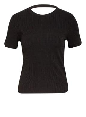 maje T-Shirt mit Cut-out