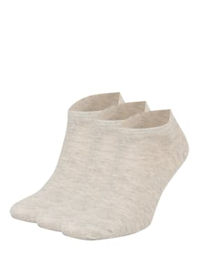 GET FIT 3er-Pack Sneakersocken FOOTI