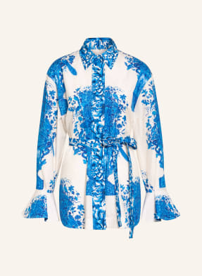 VALENTINO Oversized-Hemdbluse mit abnehmbarer Schluppe