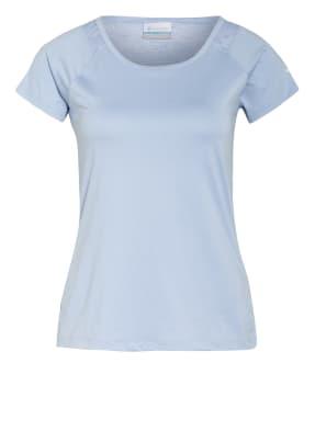 Columbia T-Shirt PEAK To Point™ mit Mesh-Einsatz