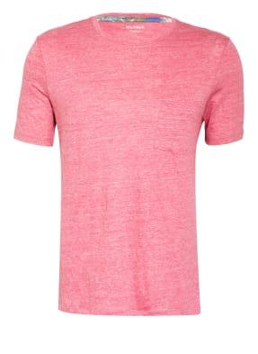 OLYMP T-Shirt aus Leinen