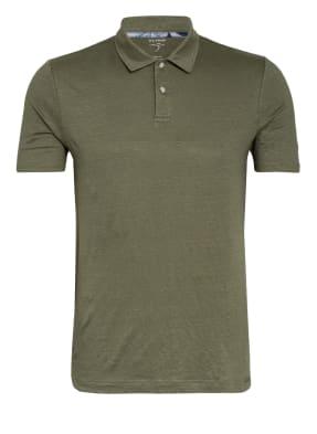 OLYMP Poloshirt Level Five body fit aus Leinen