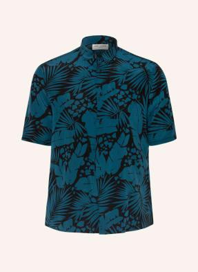 SAINT LAURENT Kurzarm-Hemd Regular Fit aus Seide