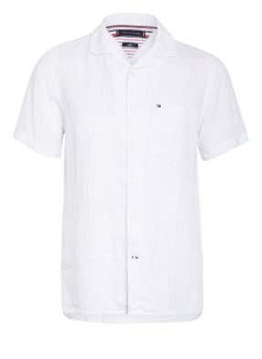 TOMMY HILFIGER Resorthemd Regular Fit aus Leinen