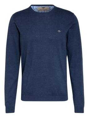 FYNCH-HATTON Pullover mit Leinen