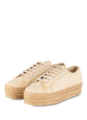 SUPERGA Plateau-Sneaker 2790 JUTECOTROPEW