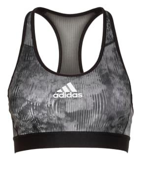 adidas Sport-BH DON'T REST FLORAL mit Mesh-Besatz