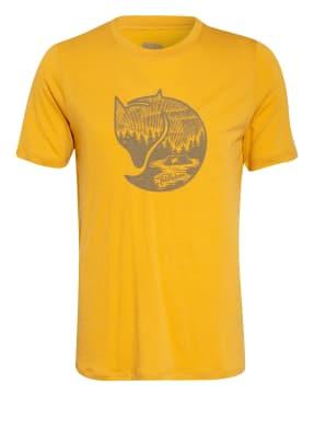 FJÄLLRÄVEN T-Shirt ABISKO mit Merinowolle