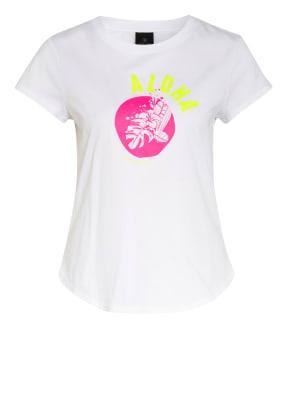 FIRE+ICE T-Shirt DEBRA mit Mesh-Einsatz