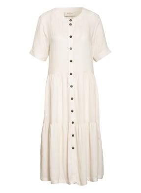 FREEQUENT Kleid FQLINEN mit Leinen