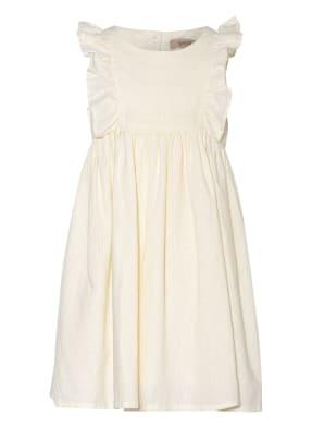WHEAT Kleid mit Leinen und Rüschenbesatz